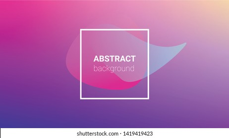 Colorfull Background. Horizontal Orientation. Banner Design Composition. Modern Geometric Pattern. Colorfull Background.