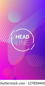 Colorfull Background. Modern Geometric Pattern. Horizontal Orientation. Banner Design Composition. Colorfull Background.