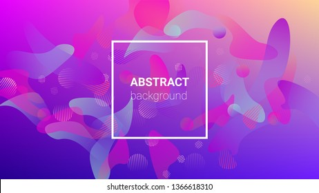 Colorfull Background. Modern Geometric Pattern. Banner Design Composition. Horizontal Orientation. Colorfull Background.