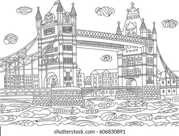 Coloring Pages London Images Stock Photos Vectors