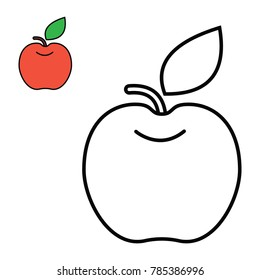 97 Coloring Book Apple Free