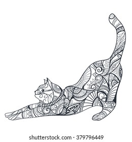 Pin on Cat coloring book | 280x260