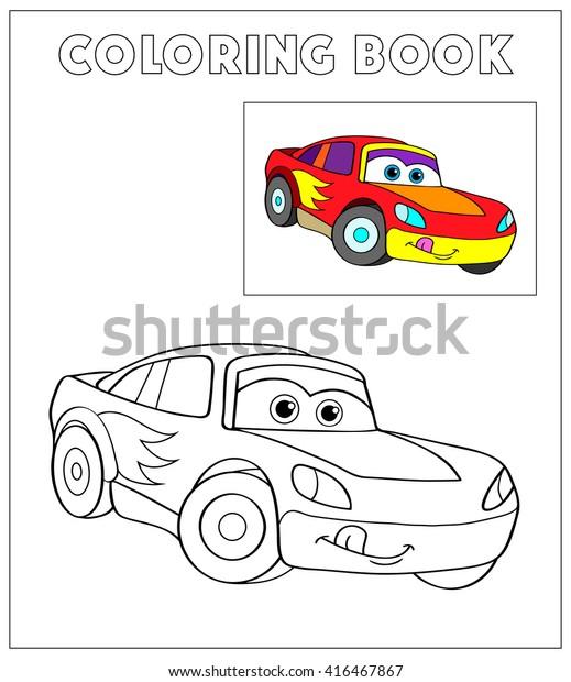 Vector De Stock Libre De Regalias Sobre Libro De Colores Dibujo