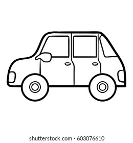 Coloring book for children, Car