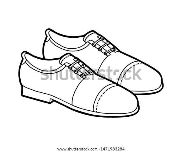 Coloring Book Children Cartoon Shoe Collection | Beauty ...