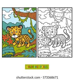 coloring book children jaguar 260nw