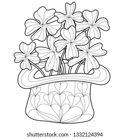 St Patricks Day Coloring Pages Images Stock Photos Vectors Shutterstock