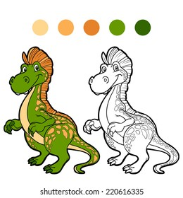 Dinosaurs Coloring Book Images Stock Photos Vectors Shutterstock
