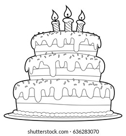 Marvelous Cake Color In Images Stock Photos Vectors Shutterstock Personalised Birthday Cards Cominlily Jamesorg