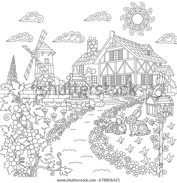Mailbox coloring page | Free Printable Coloring Pages | 620x600