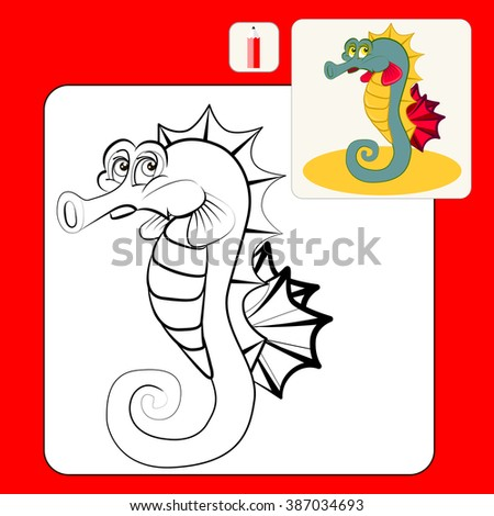 Coloring Book Coloring Book Pages Cartoon Stock Vector Royalty Free