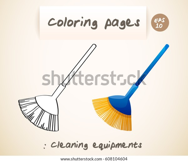 Cleaning Drawing Colouring Page Transparent & PNG Clipart Free ...   517x600