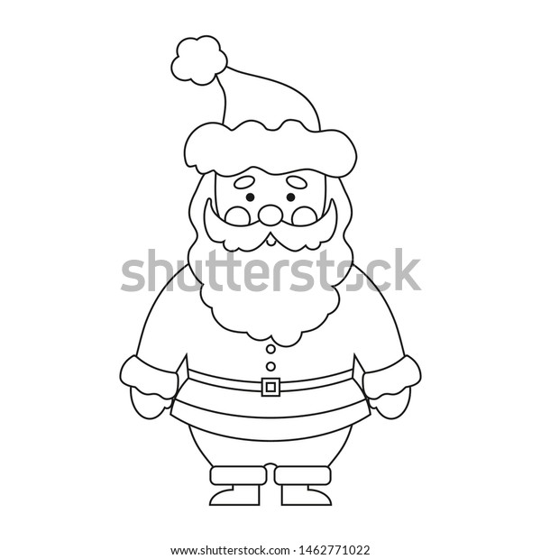 Santa Claus Coloring Pages - 001 | 620x600