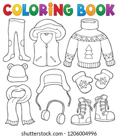 Clothes Coloring Book Images Stock Photos Vectors Shutterstock