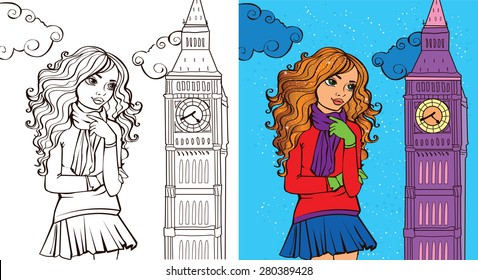 - Fashion Coloring Book Images, Stock Photos & Vectors Shutterstock