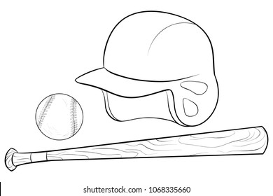 Baseball Cap coloring page | Free Printable Coloring Pages | 280x390