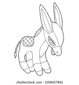 pencil drawing of donkey images stock photos vectors shutterstock Identification of Breeds of Donkeys donkey hand drawn black and white vector illustration