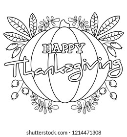 Thanksgiving Coloring Pages Images Stock Photos Vectors Shutterstock
