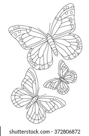 Coloring page - Butterfly