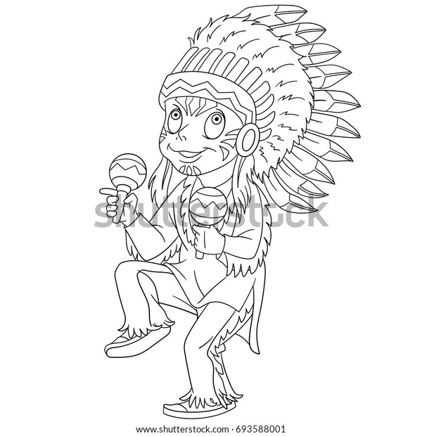 Native American Coloring Pages - Best Coloring Pages For Kids | 620x600