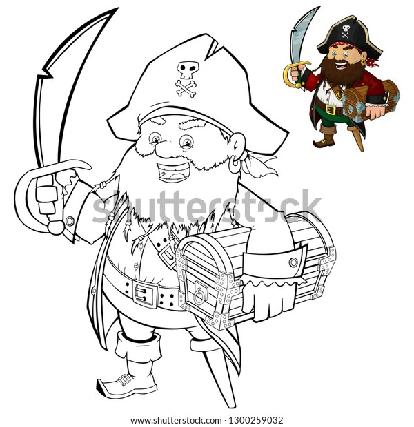 Printable Pirate Coloring Pages | Pirate coloring pages, Coloring ... | 620x600