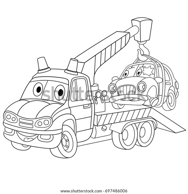 Skoda Truck coloring page | Free Printable Coloring Pages | 620x600
