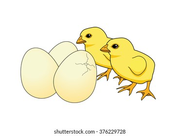 Easter Chick Coloring Book Images Stock Photos Vectors