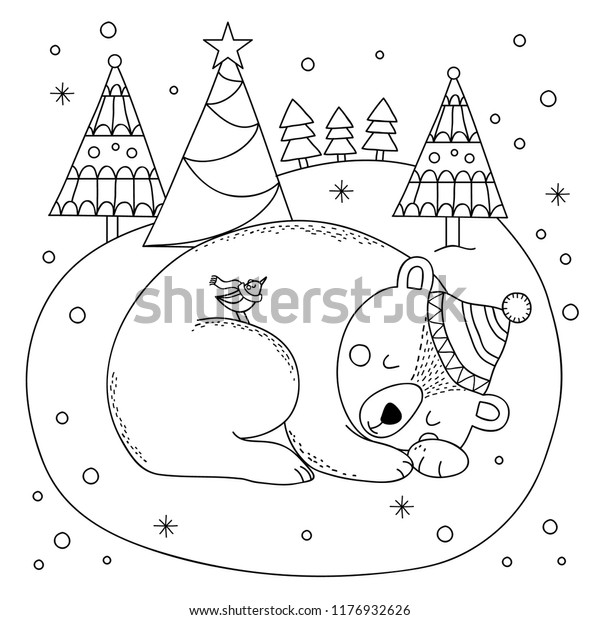 Polar bear printable coloring pages - Hellokids.com | 620x600