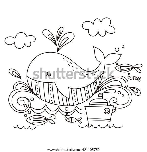Whale | Free Printable Templates & Coloring Pages | FirstPalette.com | 620x600