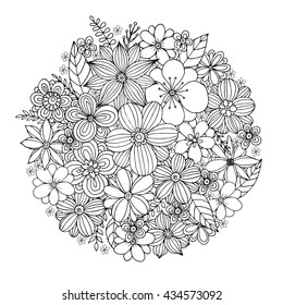 Sunflower Coloring Page Images, Stock Photos & Vectors ...