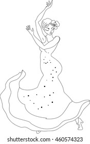 Dancing Colouring Stock Illustrations – 70 Dancing Colouring Stock ... | 280x175