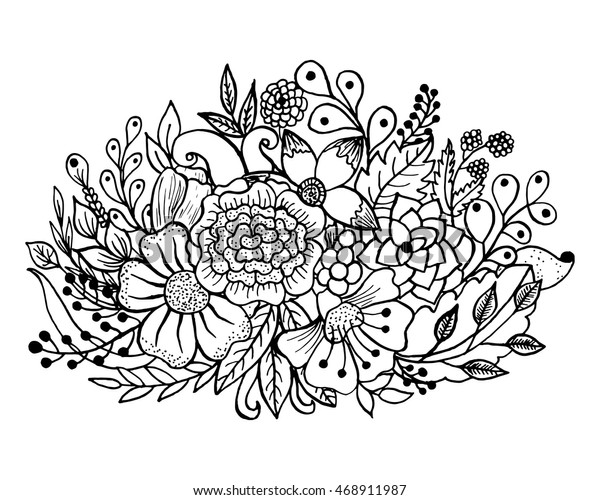Coloring Pages Floral Pic Survival Colouring Flowers Roses ... | 500x600