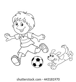 Football 2 4 Coloring Page Free Brazil Pages Of Pictures - Soccer ... | 280x260