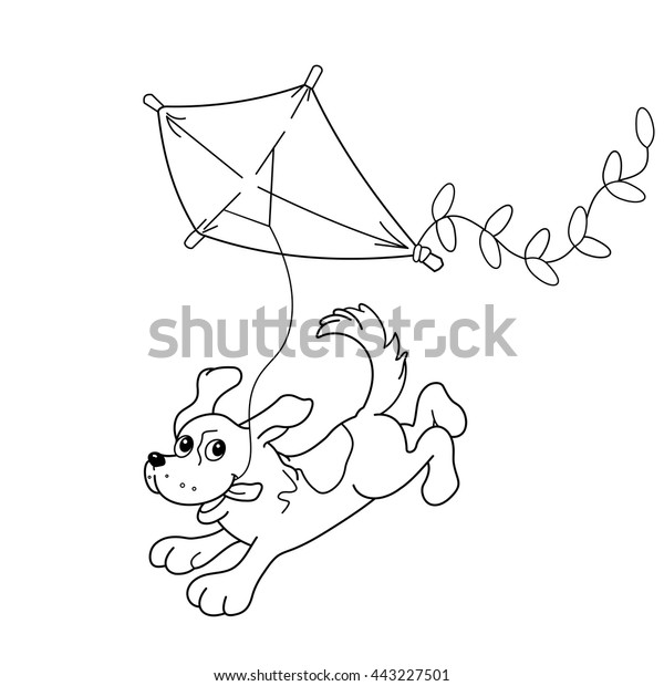 Image Vectorielle De Stock De Coloring Page Outline Cartoon