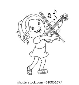 String Instruments Colouring Pages (page 3) - Coloring Home | 280x260