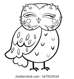Owls Coloring Images Stock Photos Vectors Shutterstock