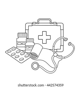 Nurse Coloring Book Hd Stock Images Shutterstock