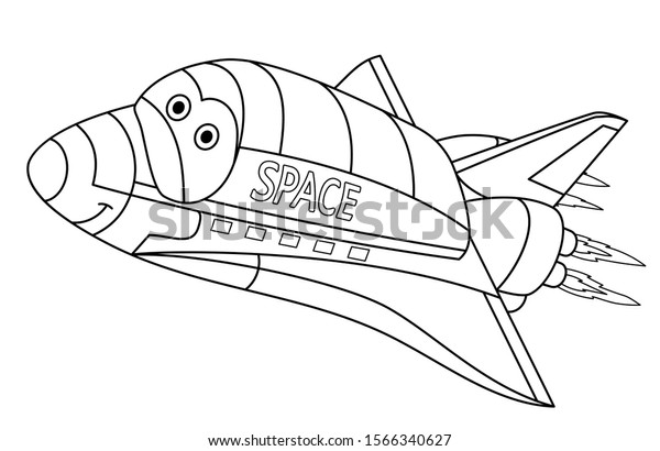 Space Shuttle Coloring Pages - GetColoringPages.com | 410x600