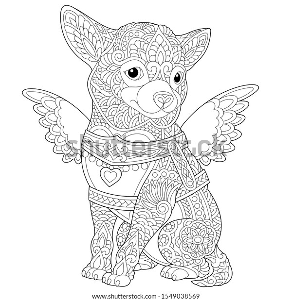 Chihuahua Coloring Pages - Best Coloring Pages For Kids   620x600