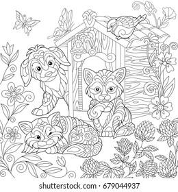 Vectores, imágenes y arte vectorial de stock sobre Cute ...