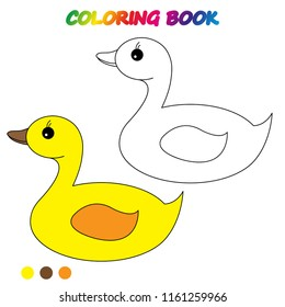 coloring page. Worksheet. Game for kids -  coloring book.