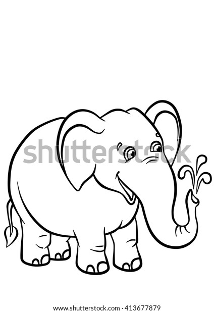 Valentine Elephant Colouring Pages Page 2 216096 Cute Elephant ... | 620x424