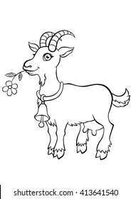 Goat Colouring High Res Stock Images Shutterstock