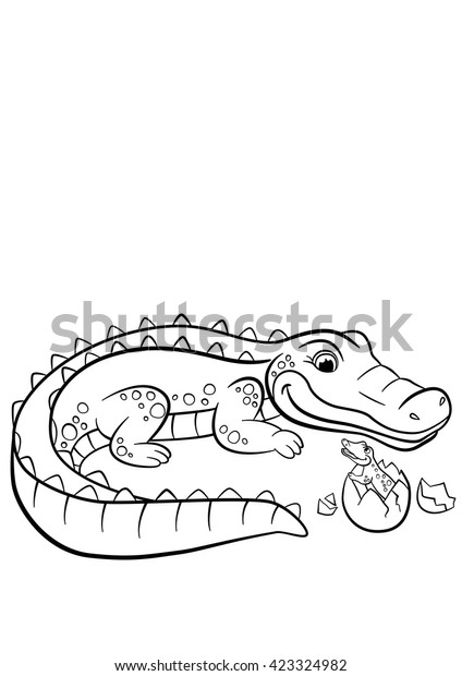 Alligator coloring page | Free Printable Coloring Pages | 620x424