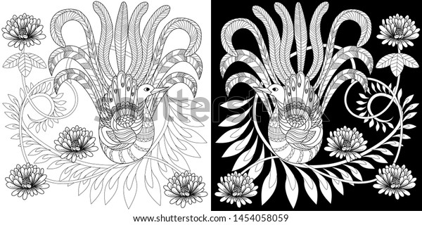 Coloring Pages Coloring Book Adults Children Stock Image ...
