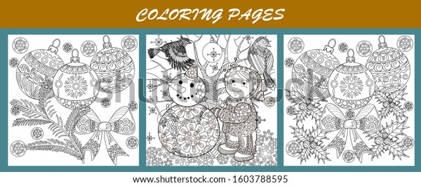 Mandala Ocean Fish Adult Art Therapy Coloring Pages Printable | 265x600