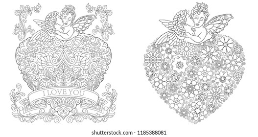 Coloring Page Images, Stock Photos & Vectors | Shutterstock