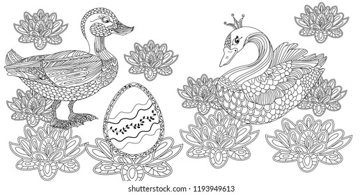 Coloring Book Pages Images, Stock Photos & Vectors | Shutterstock
