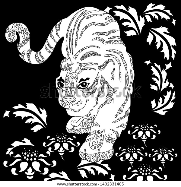 Print zen antistress free adult 11 coloring pages | Lion coloring ... | 620x600