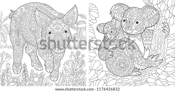 10 free cute Koala coloring pages coloring page - Print. Color. Fun! | 316x600